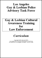 Gay and lesbian cultural awareness: 