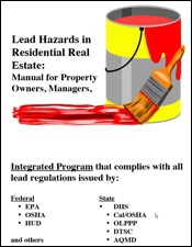 Lead Hazards in Residential Real Estate